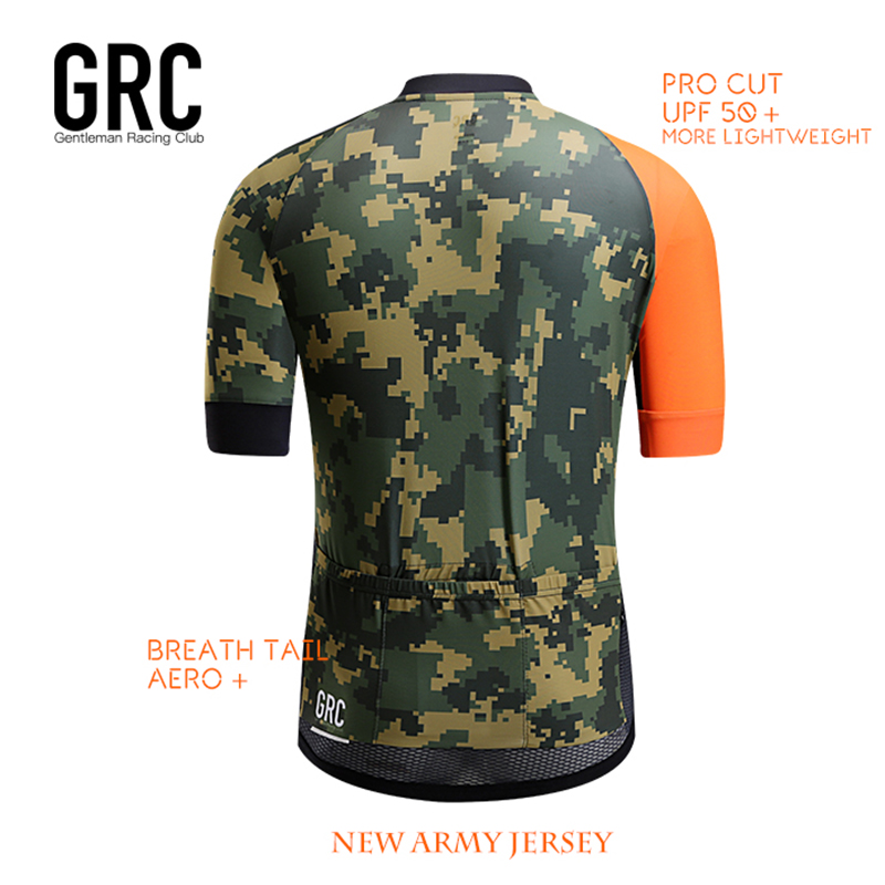 Aliexpress.com   Buy GRC Cycling Jersey Men 2017 Pro Team Summer MTB Sport  Quick Dry Cycling Breathable short sleeves Breathable Cycling Clothing Set  from ... 65929a662