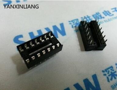 10pcs IC Integrated Circuit 14 Pin DIP IC Sockets Adaptor 14pin 14pins