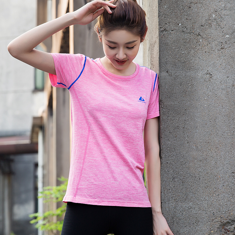 Kolorowe Kobiety Fitness Sportowa Koszula Z Paskiem Drukowane Jogi - Ubrania sportowe i akcesoria - Zdjęcie 1