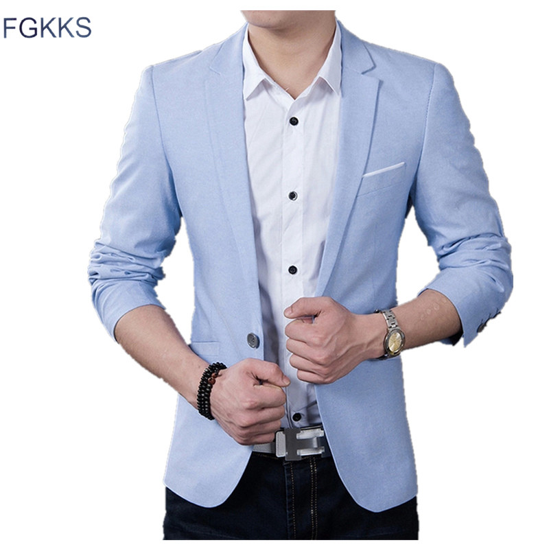 FGKKS Brand Men Blazer Wedding Suits Men Suits Formal Tuxedo Slim Fit Meeting Dress Groom Suit Costume Homme