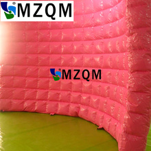 MZQM  5*3m New attractive inflatable photo booth wall/ inflatable wall for wedding event