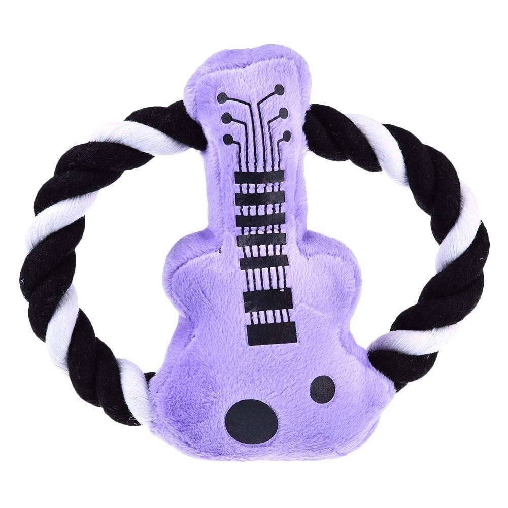 개 엔터테인먼트 필수품 자주색 Pipa 장난감, 붙박이 - 애완 동물 제품