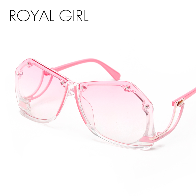 ROYAL GIRL Rimless Sunglasses W