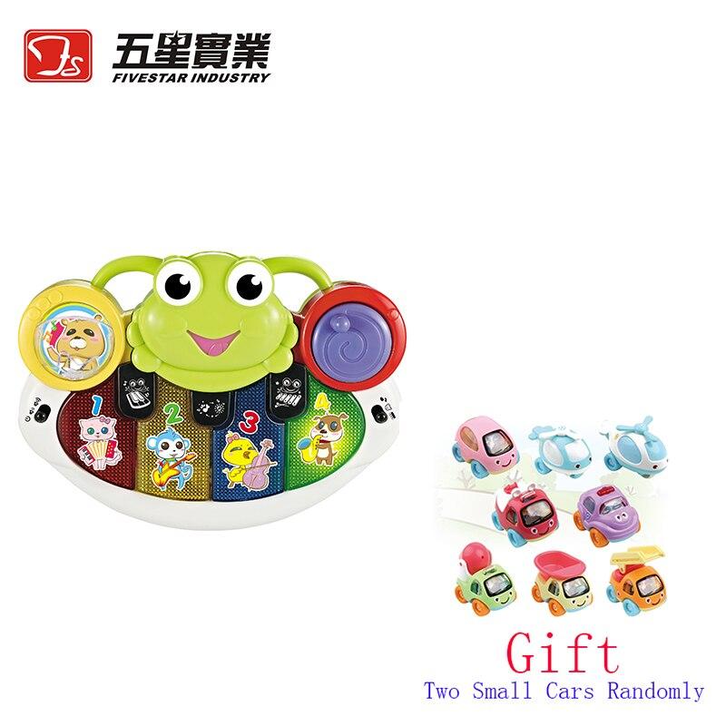 Jouets FS 1 PC 35811 grenouille-piano jouets musicaux développementaux pour enfants instrument de musique pour enfant en bas âge bébé enfants piano éducatif