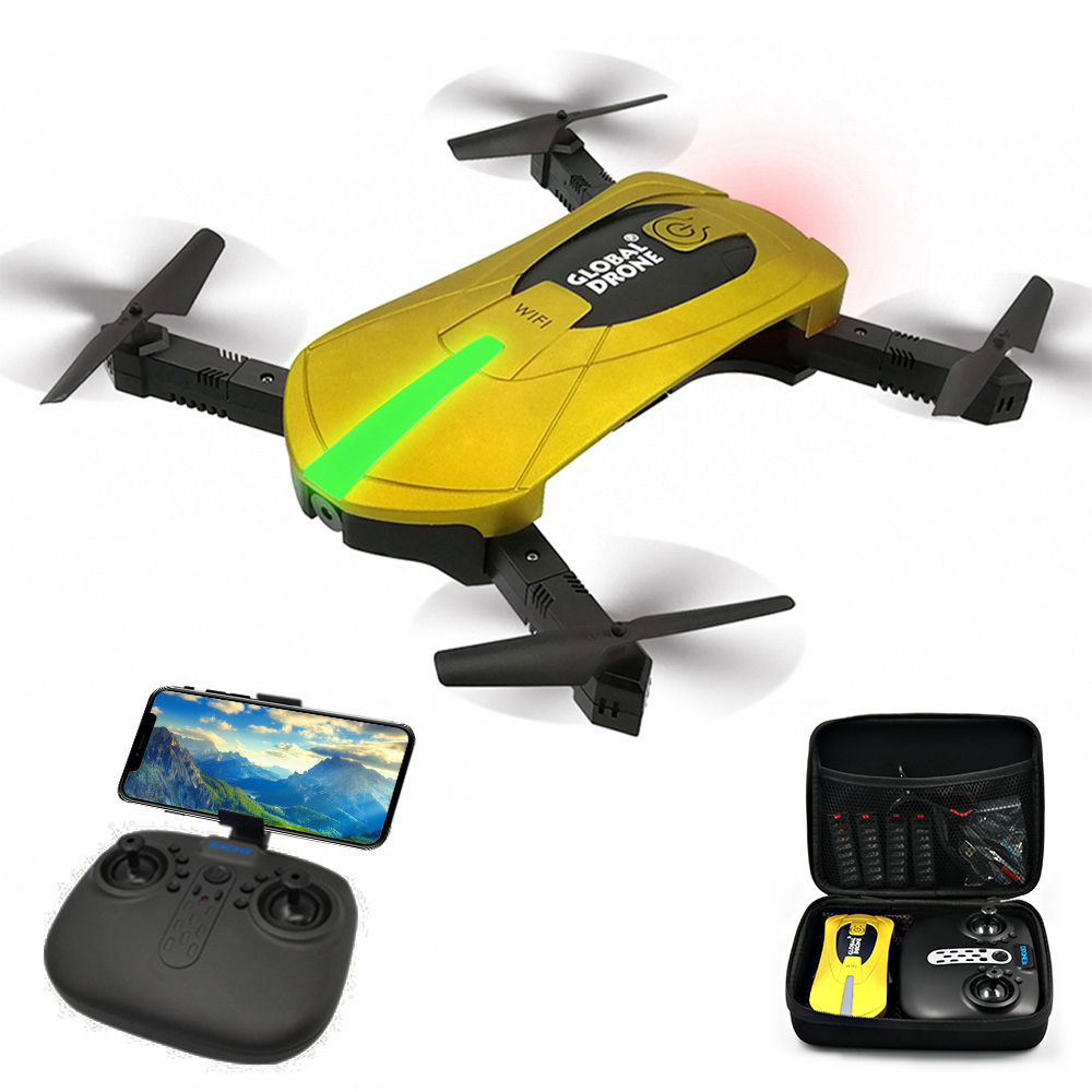 RC Drones with hd Camera RC Helicopter Foldable Mini Drone FPV Quadcopter Aircraft Selfie Drone Foldable Drone GW018 JY018 JD018