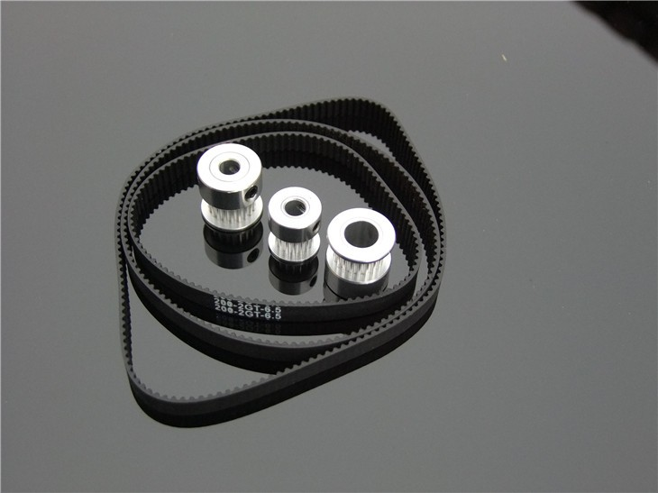 Fine Quality Black Rubber 2GT-6 232mm Perimeter Timing Belt 6mm Width Closed Loop Synchronous Belt Transmission Accessories 5