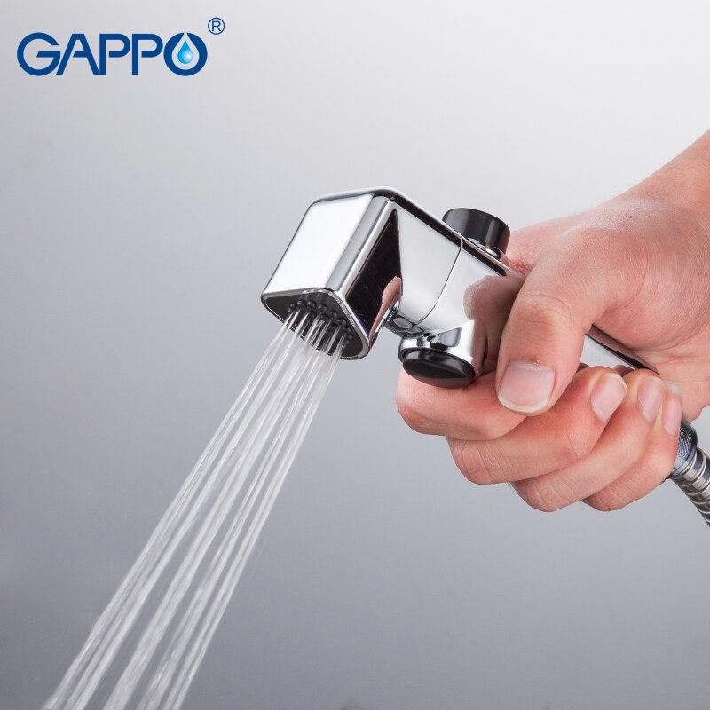 GAPPO white Bidets bathroom toilet water muslim shower bidet faucet ...