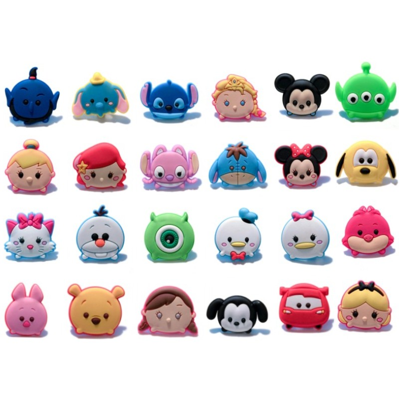 Shoes Novelty Sesame Street Cute Cartoon Accessory Shoe Charms Decoration Buckles Fit Wristbands Bracelets Kids Toys Xmas Gifts