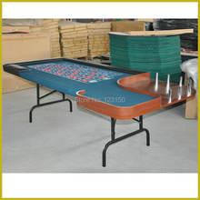 ЧР-006 покерный стол, рулетка игра 240*120см, стол казино