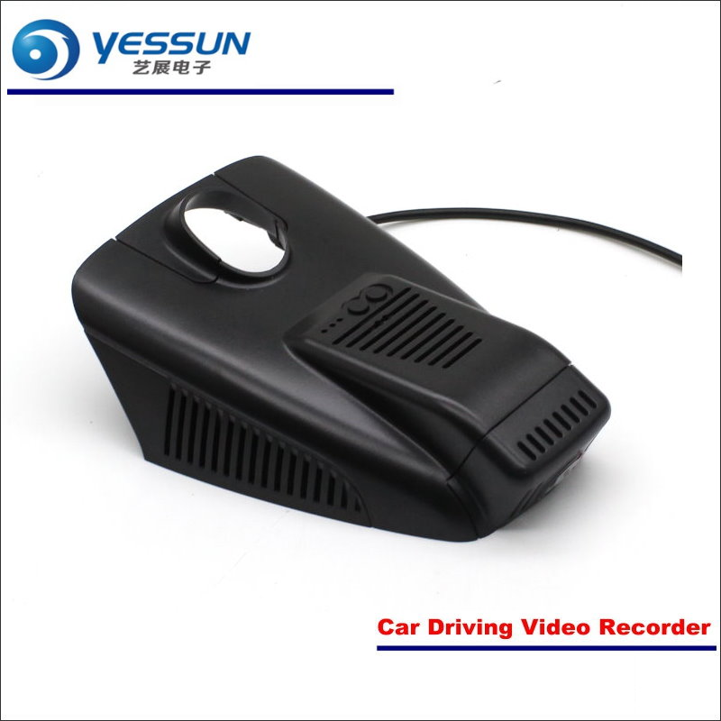 YESSUN Car DVR Driving Video Recorder For Mercedes Benz GLC260 2015 Front Camera Black Box Dash Cam Head Up Plug OEM 1080P WIFI bigbigroad for land rover discovery sport car wifi dvr video recorder front camera dash cam car black box night vision