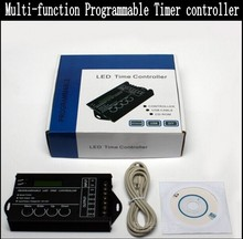 12V 24V 20A 5CH Multi-function Programmable RGBW RGB CW/WW LED time Controller timmer timer led dimmer control Free shipping