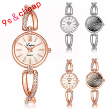Fashion Ladies Women Stainless Steel  Rhinestone Quartz Wrist Watch  #3340 Brand New High Quality Luxury Free Shipping