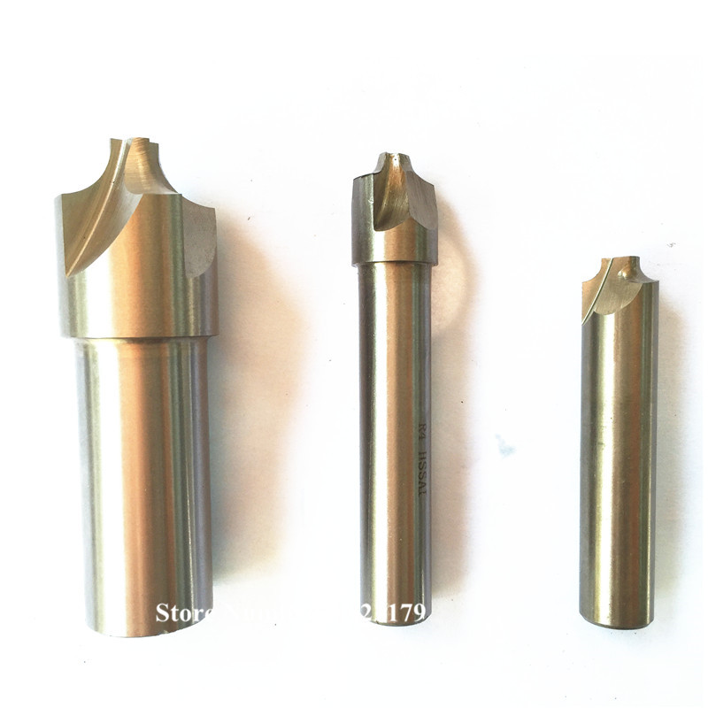 5pcs lot Corner Rounding End Mill R1 R2 R3 R4 R5 Corner Rounding Milling Cutter Concave