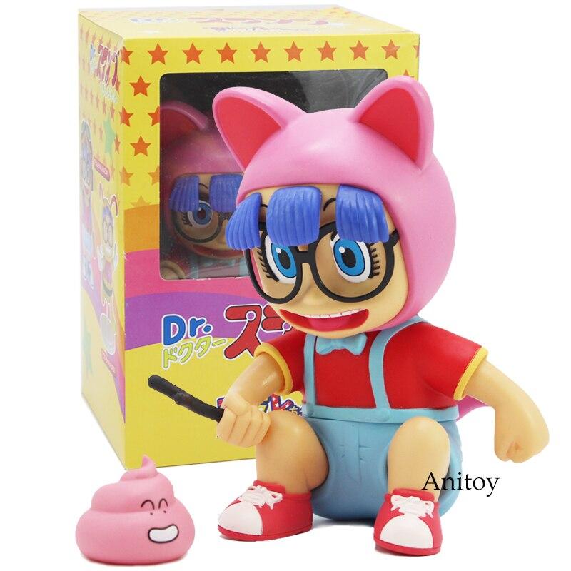 Anime Cartoon Dr. Slump Arale PVC Action Figure Collectible Model Toy Children Kids Gift 17.5cmAction & Toy Figures   -
