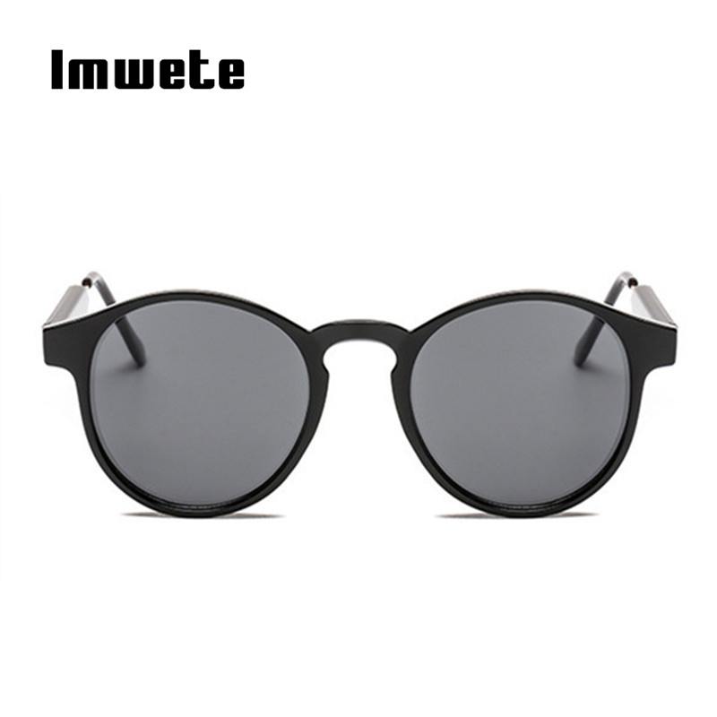 Imwete Retro Round Sunglasses Men Women Unisex Vintage Design Small Sun Glasses for men Driving Glasses Shades Eyewear UV400