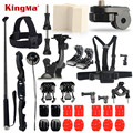 KingMa Gopro accessories Set kit 3M sticker suction cup Go pro hero 5 4 3 2 Black Edition monopod for Xiaomi yi SJCAM SJ4000 M10