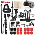 Kingma gopro acessórios set kit 3 m adesivo ventosa go pro hero 5 4 3 2 black edition monopé para xiaomi yi sjcam sj4000 M10