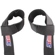 SEWS 1 Pair Wrist Strap Sport Weight Lifting Hand Wrist Bar Support Strap Brace Gym Straps Body Building Grip Gloves