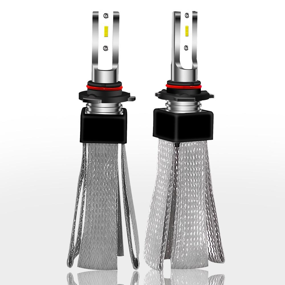 LSlight H7 H4 LED bulbs Car Headlight 9003 HB2 H1 H11 9005 HB3 9006 HB4 super bright 60W 16000lm 6000K 12V Light For Auto Lamp