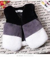 2017 Baby Autumn Winter Vest Waistcoat Children S Fur Vest Boys Girls Imitation Fur Coat Kids
