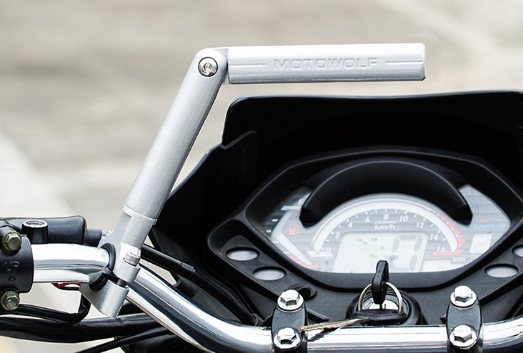 "Motorcycle Black 7//8/"" Handlebar Balance Cross Bar Strengthen Lever MTB Scooter"