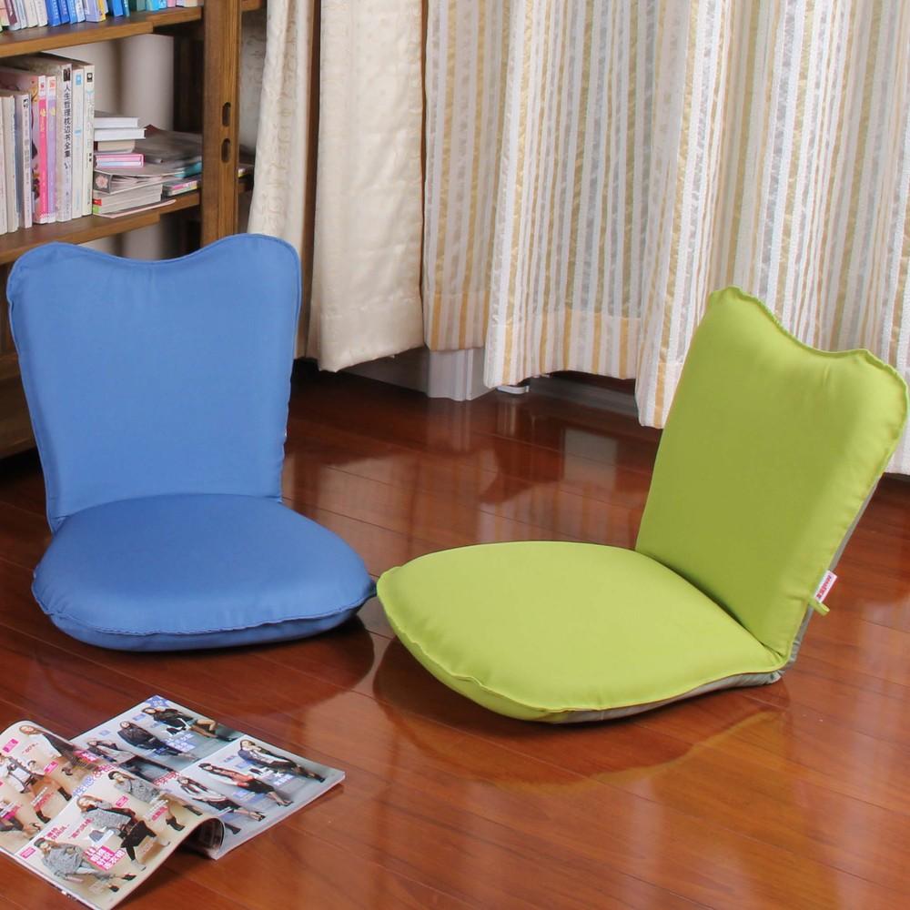 Folding single bed on the tatami beanbag chair backrest cute ...