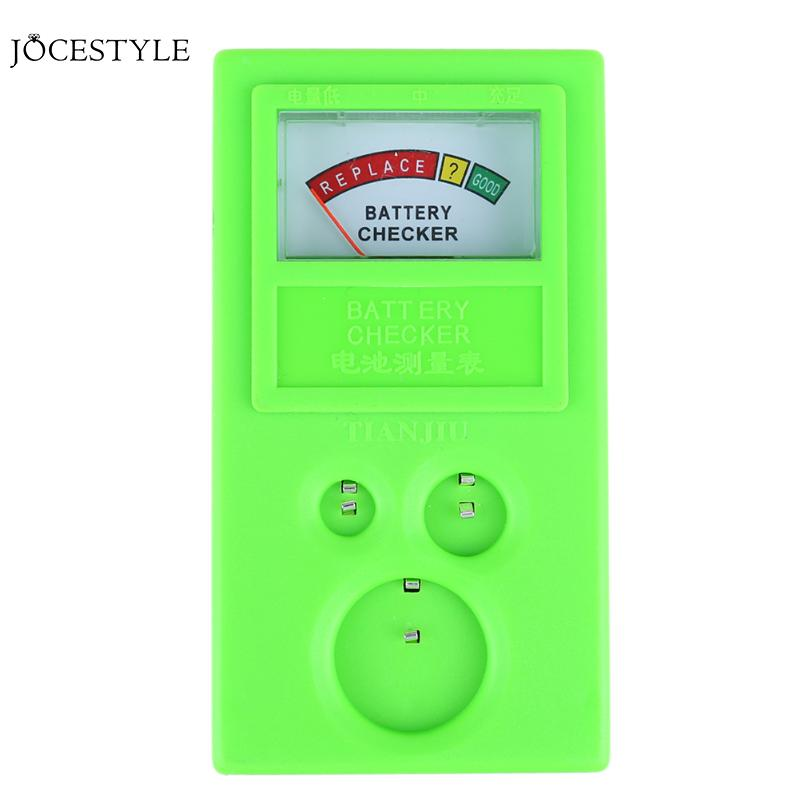 1.55-3V Clock Watch Tools Watch Battery Checker Watches Button Cell Battery Testing Watch Repair Tool Kit 1 55v and 3v button cell battery checker battery tester green