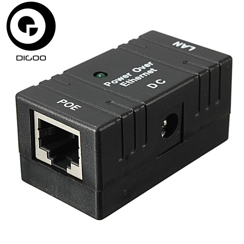 все цены на DIGOO 10M/100Mbp Passive POE Power Over Ethernet RJ-45 Injector Splitter Wall Mount Adapter For CCTV IP Camera Networking онлайн