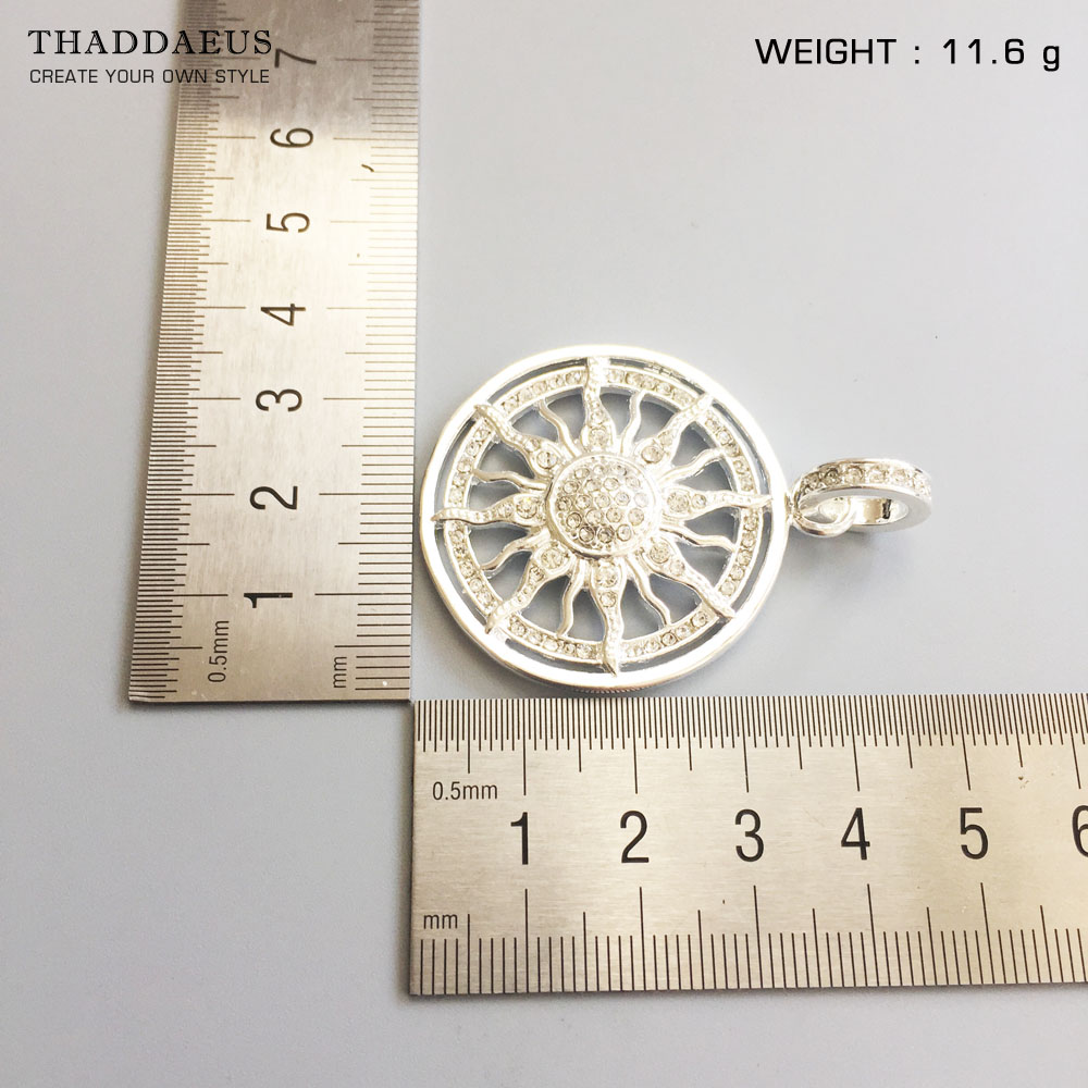 Pendant Amulet Sun,2017 New Fashion Glam 925 Silver Jewelry Thomas Style Sterling Necklace Accessories Gift For Ts Soul Woman