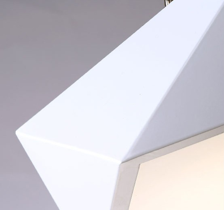 HTB1unTldpuWBuNjSszbq6AS7FXaw Ultrathin Modern LED ceiling lights simple home deco fixtures Bedroom dining living room iron black white pentagon ceiling lamp