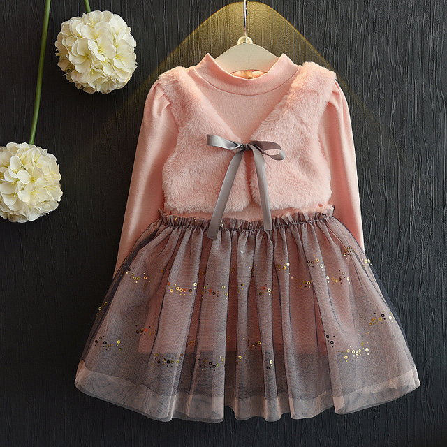 Pink Princess Mini Ball Gown for Baby Girl