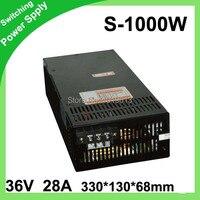 36 В 28a 1000 Вт переключатель Питание драйвер Дисплей 200 В ~ 240 В для Светодиодные ленты свет