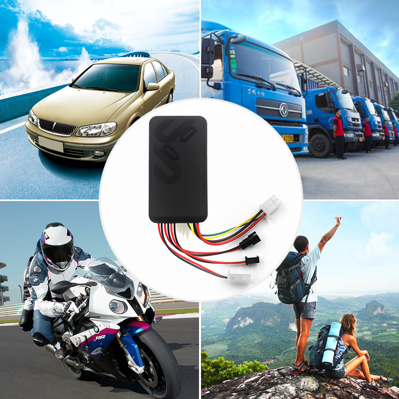 TK100 GPS GSM GPRS Car Tracker Monitor Locator Vehicle Online Tracking System Remote Control Alarm for Motorcycle Locator Device