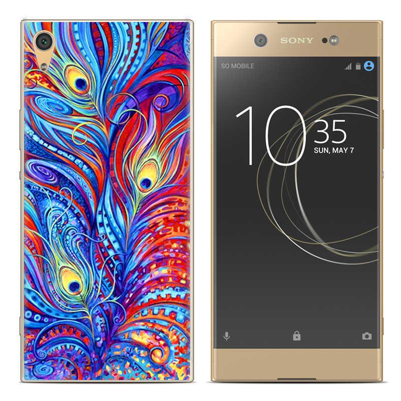 Nuovo Caso di Arrivo Del Telefono Per Sony Xperia XA1 G3112 G3116 G3121 G3123 G3125 5-pollici di Disegno di Modo di Arte Dipinta caso Molle di TPU