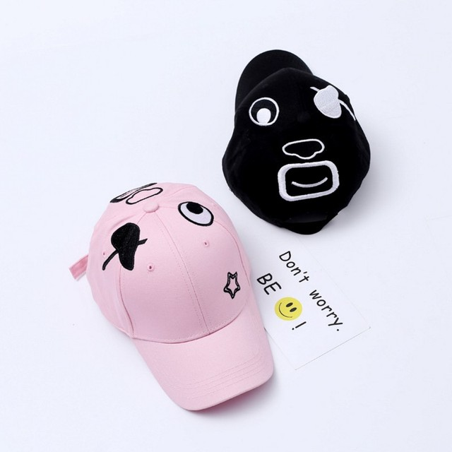 90294289736 Funny Face Expression Baseball Cap Lovers pirate expression Embroidery  Hip-hop Cap Lover Party Fashion Snapback Curved Hats