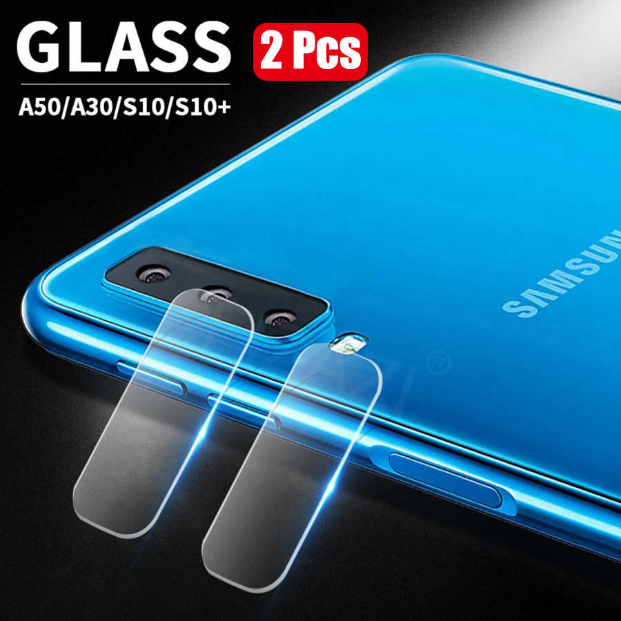 2Pcs Camera Lens Tempered Glass For Samsung Galaxy A50 A30 A40 A60 A70 Glass Protector For Samsung S10 Plus S10e Protective Film