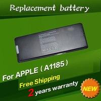 Free Shipping A1185 Original Laptop Battery For APPLE MacBook 13 A1181 MA254 MA255 MA699 MA700 MB061