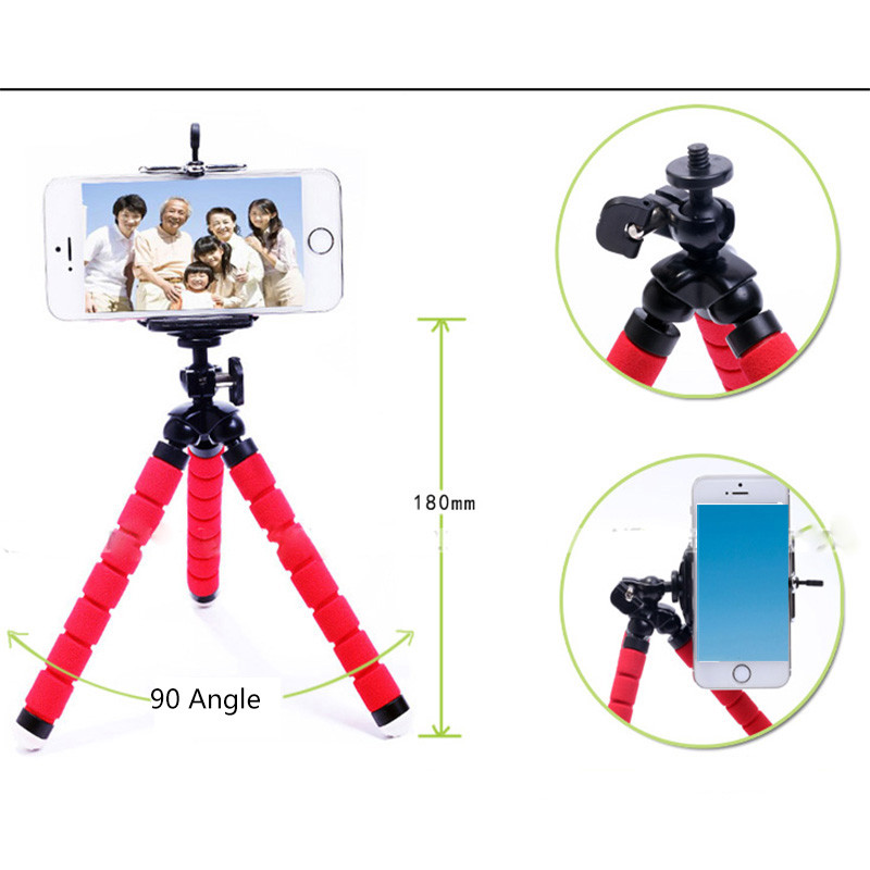 Flexible Octopus Leg Phone Holder Smartphone Accessories Stand Support For Mobile Tripod For Phone For Xiaomi Redmi Note 5a Cellphones & Telecommunications