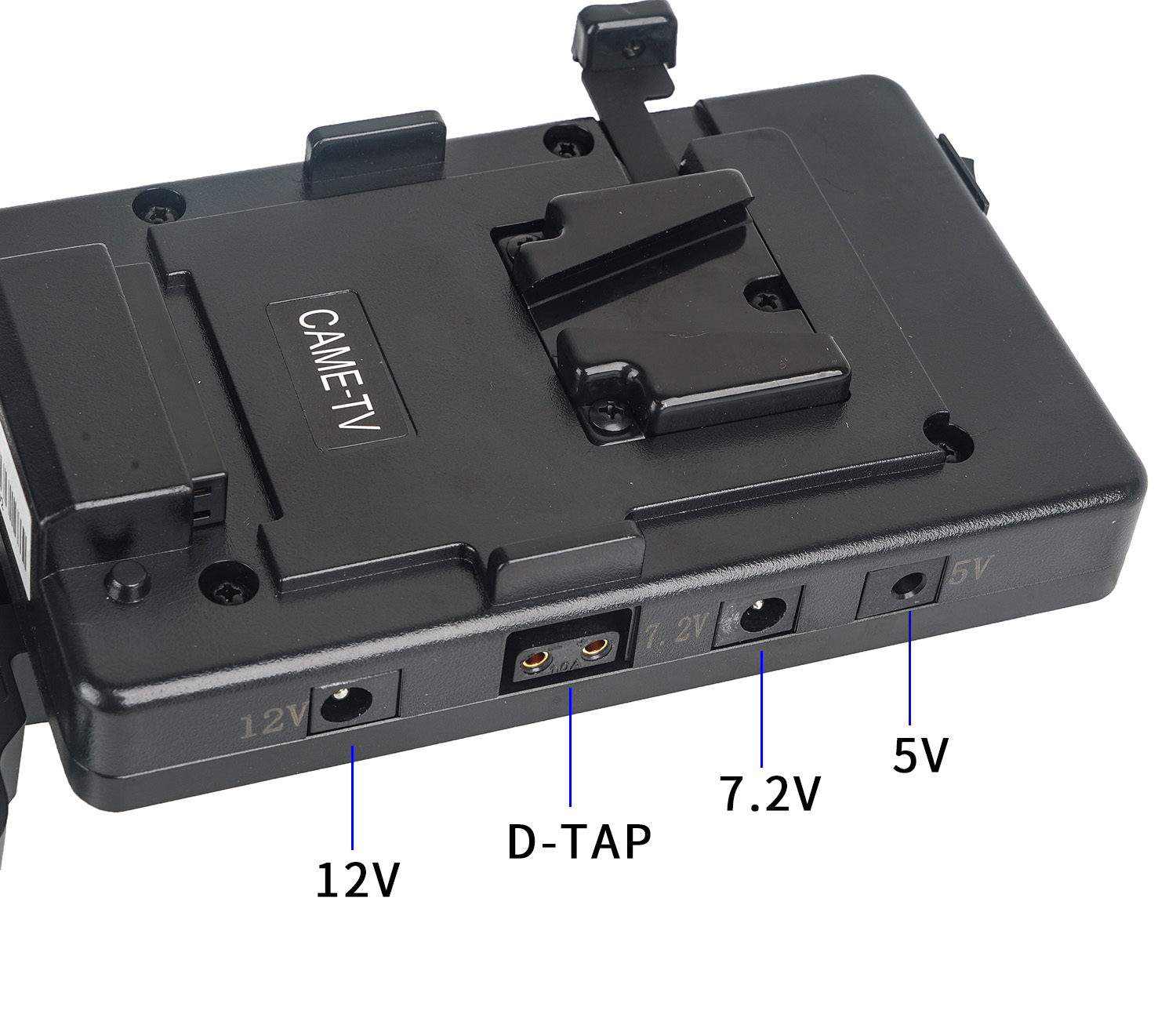 Image 4 - CAME TV V mount Battery Plate Include Connection Cable 5V 7.2V 12V-in Photo Studio Accessories from Consumer Electronics