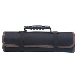 Image 3 - オックスフォードキャンバス車ツールのための自動車修理ポータブルトランクオーガナイザー工具収納ボックスハンドル耐久性のあるインストールバッグ