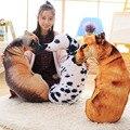 Творческая Форма Собака Декоративные Подушки Милые Животные Бросить Подушку Largr Плюшевые Игрушки для Детей Подарок С Внутренняя Заполнено Главная Диван Декор