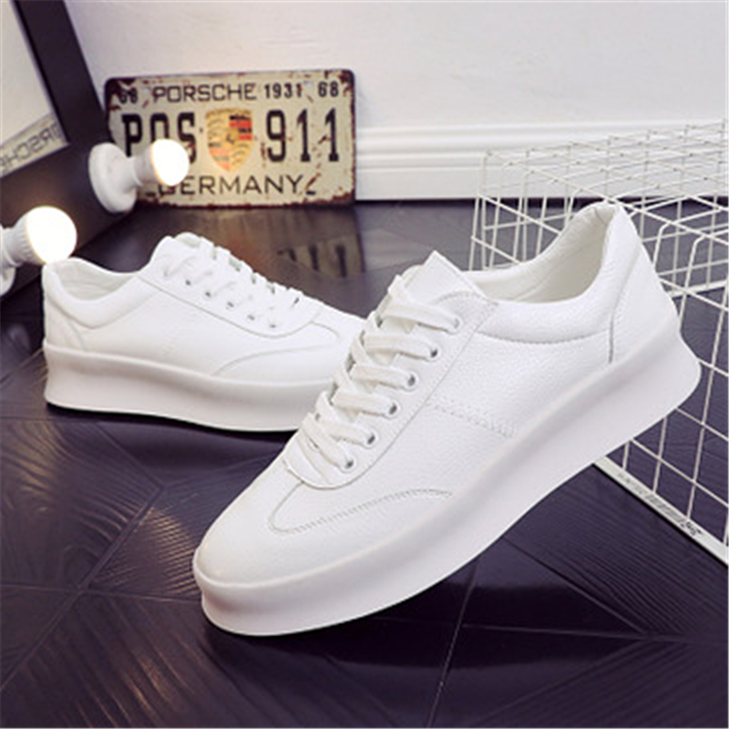 Air Confortable Casual up Baskets En 02a blanc Top Vente rouge Chaussures Respirant Cuir Dentelle Mode Plein Hommes Noir xIw0q7U74