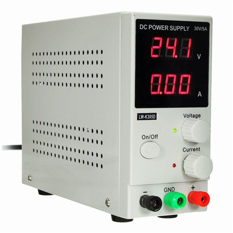 DC Power Supply Adjustable Digital Lithium Battery charging DC Power Supply 30V 5A Switching Power Supply For Phone Repair cps 6011 60v 11a digital adjustable dc power supply laboratory power supply cps6011