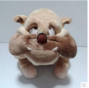 Oliver Company Bulldog Original Francis Dog Plush Toy Doll