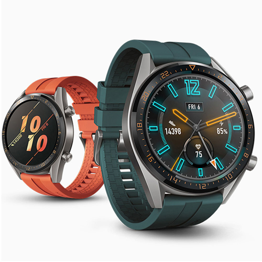 Huawei Watch GT 2 Strap For Galaxy Watch 46mm Samsung Gear S3 Frontier Silicone 22mm Watch Band Amazfit Bip Bracelet Gear S 3 46
