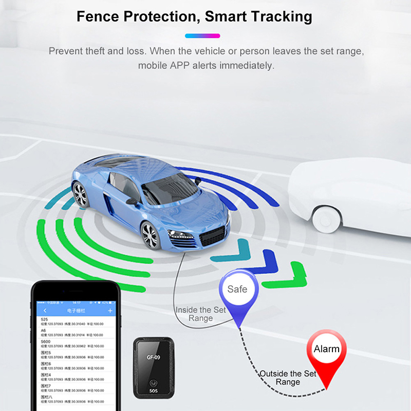 Image 3 - Newest Car mini gf 09 Gps Tracker Car GPS Locator Tracker Anti Lost Recording Tracking Device Voice Control Can Record-in GPS Trackers from Automobiles & Motorcycles