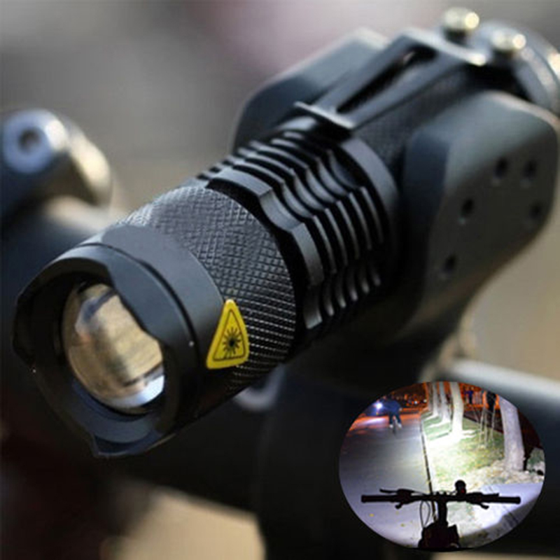 Bicycle Light <font><b>7</b></font> Watt <font><b>2000</b></font> Lumens <font><b>3</b></font> Mode Bike Q5 LED cycling Front Light Bike lights Lamp Torch Waterproof ZOOM flashlight image