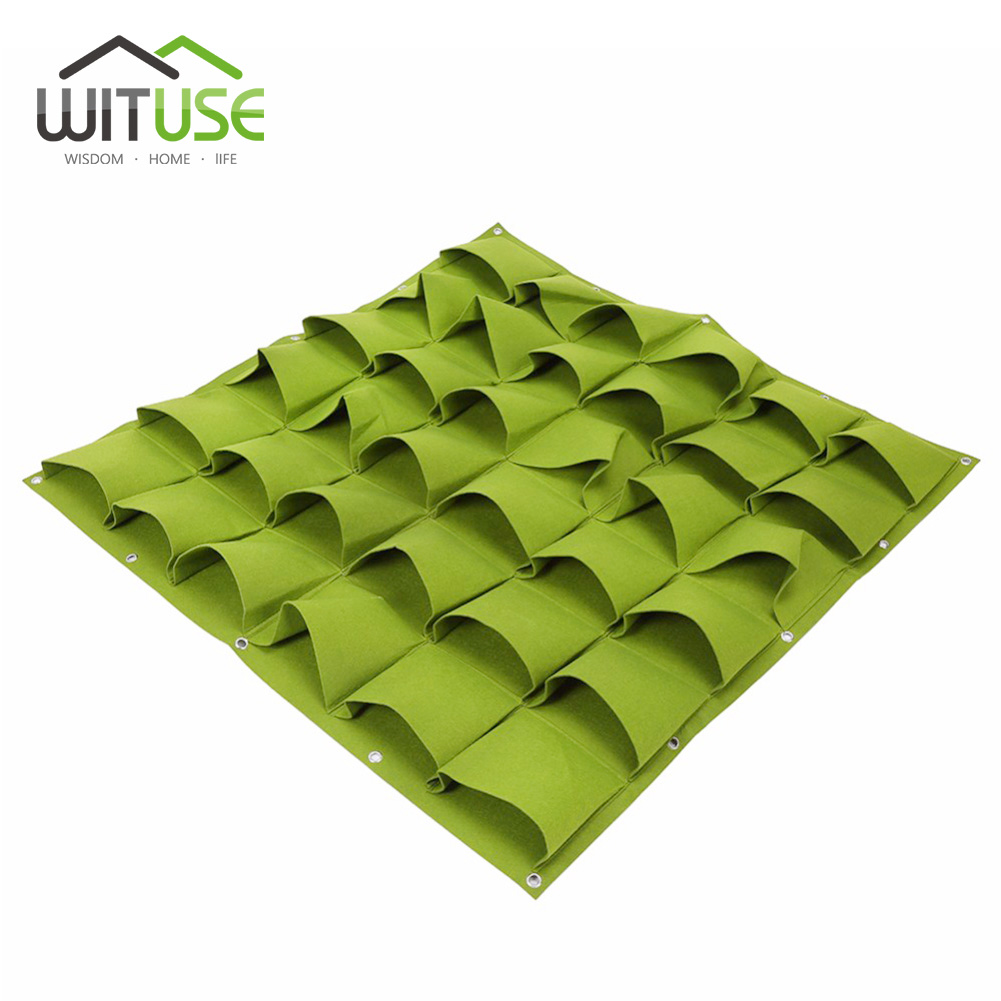 49 Off Sale 2 Colors Vertical Garden Hanging Wall Planting Bags