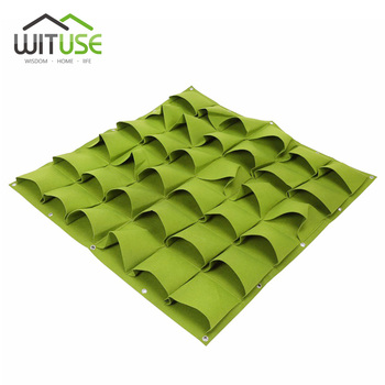 49% Rabatu Sprzedaży 2 Kolory Vertical Garden Torby Sadzenia Sadzonki Wiszące Na Ścianie ściany Sadzarka Rosnące Torby 4 6 8 36 64 72 Kieszenie