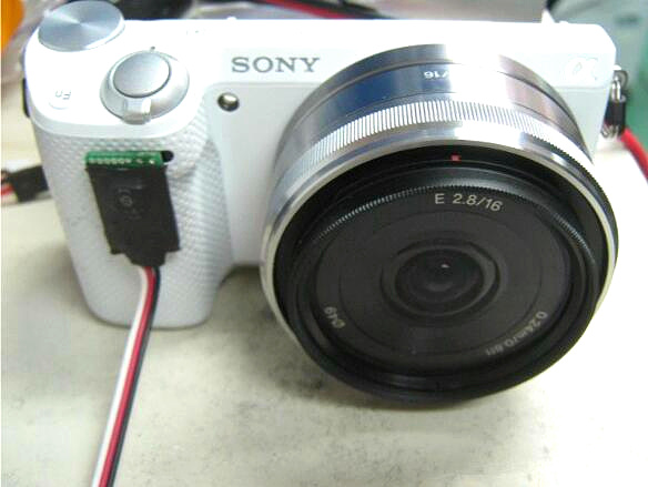 Sony NEX cameras full range of wireless aerial remote shutter 5N 5R NEX-7 can switch the video camera sony nex vg30e